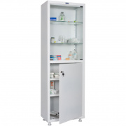 Медицинские шкафы ПРАКТИК MD 1 1760/SG
