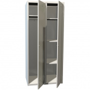 Шкафы для раздевалок Практик LS(LE)-21-80U