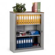 Шкаф офисный с дверьми-жалюзи КД-142