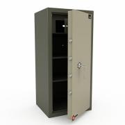 Сейф офисный LS-040 R (хаки) с трейзером