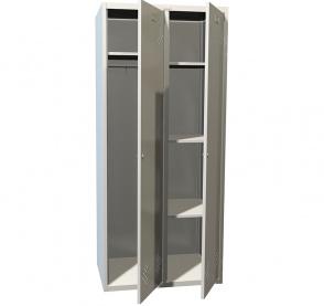 Шкафы для раздевалок (локеры) ПРАКТИК LS(LE)-21 U