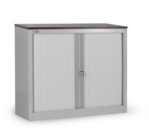 Шкаф офисный с дверьми-жалюзи КД-141 (разборный)
