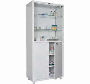 Медицинские шкафы Практик MED 2 1780/SG